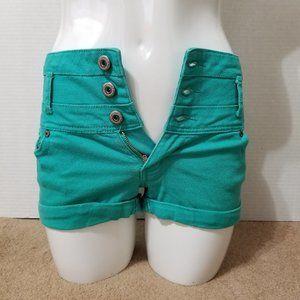 Blue Asphalt shorts 5 colored denim jean